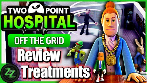Two Point Hospital Off the Grid DLC Test New in Off the Grid - Treatments