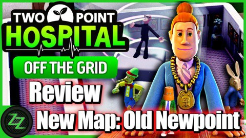 Two Point Hospital Off the Grid DLC Review New Map 2 - Old Newpoint