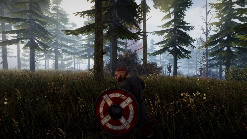 valnir rok - a new god is rising - in the woods