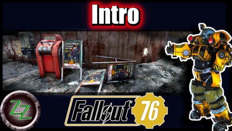 Fallout 76 Guide (Deutsch-German) - Powergräber Quest - Bagger Power Armor & Power Armor Station 00 Intro