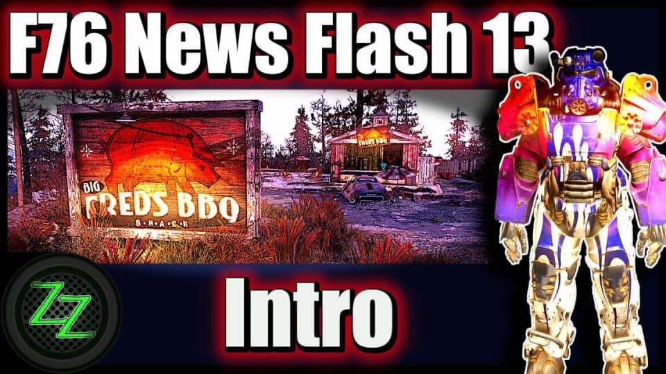 Fallout 76 Infos (Deutsch) Free2play, Support & Datamining [F76 News Flash 13] 00 Intro