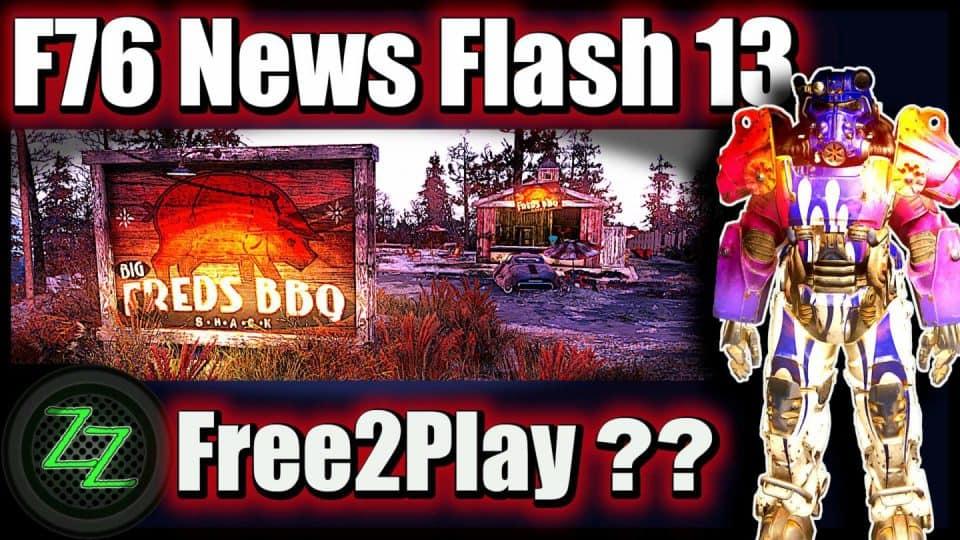 Fallout 76 Infos (Deutsch) Free2play, Support & Datamining [F76 News Flash 13] 01 Fallout 76 Free2Play (Free to play)