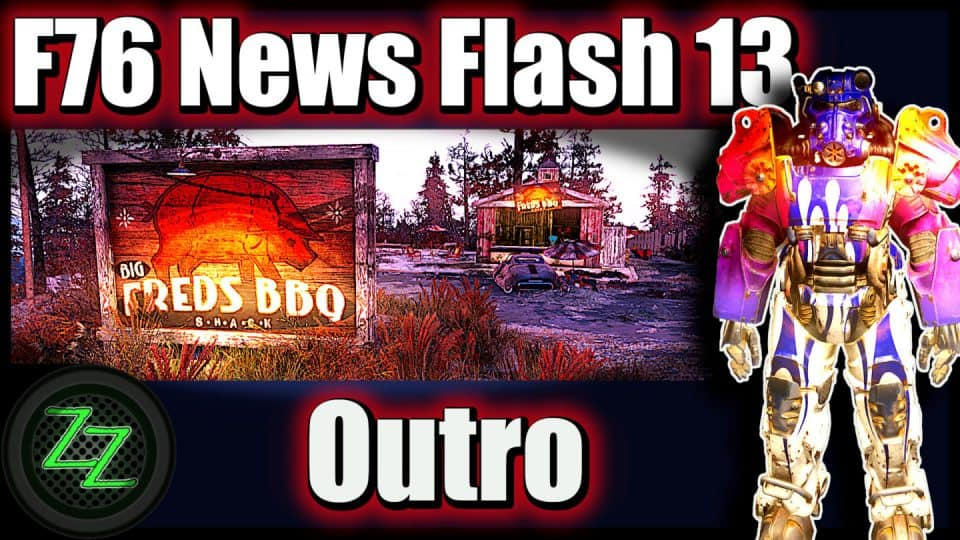 Fallout 76 Infos (Deutsch) Free2play, Support & Datamining [F76 News Flash 13] 14 Outro