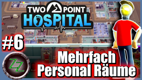 Two Point Hospital Tips and Tricks Multiple Staff Rooms
