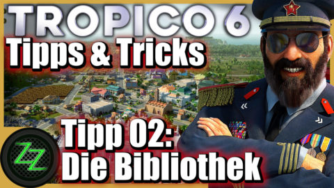 Tropico 6 Tips and Tricks for Beginner and Advanced Players Tipp 02 Research and Library
