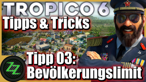 Tropico 6 Tips and Tricks for Beginner and Advanced Players Tip 03  Increase population limit in the option