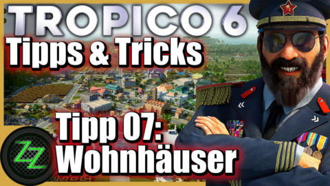 Tropico 6 Tips and Tricks for Beginner and Advanced Players Tip 07 Residential houses