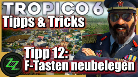 Tropico 6 Tips and Tricks for Beginner and Advanced Players Tip 12 Reschedule the F-keys