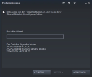 Explanation Redeem Steam Key - Activate a game with Steam - Redeem the Steam Key
