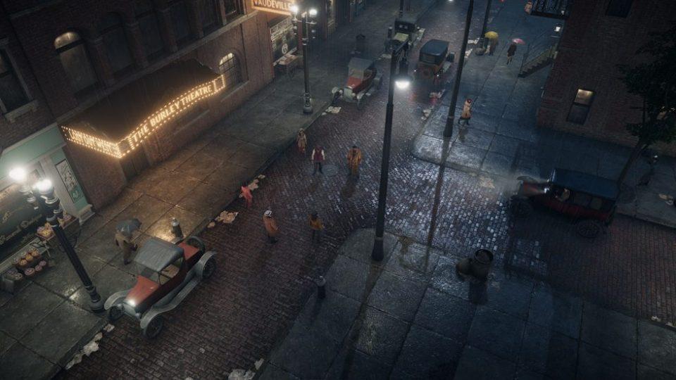 Empire of Sin - Mafia Strategie - Release für 2020 angekündigt - Straßenansicht bei Nacht 02
