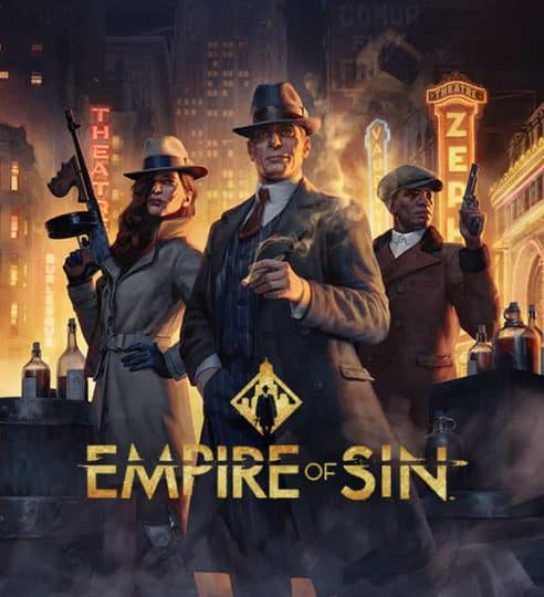 Empire of Sin Preview Logo Cover Release 2020 Zap zockt