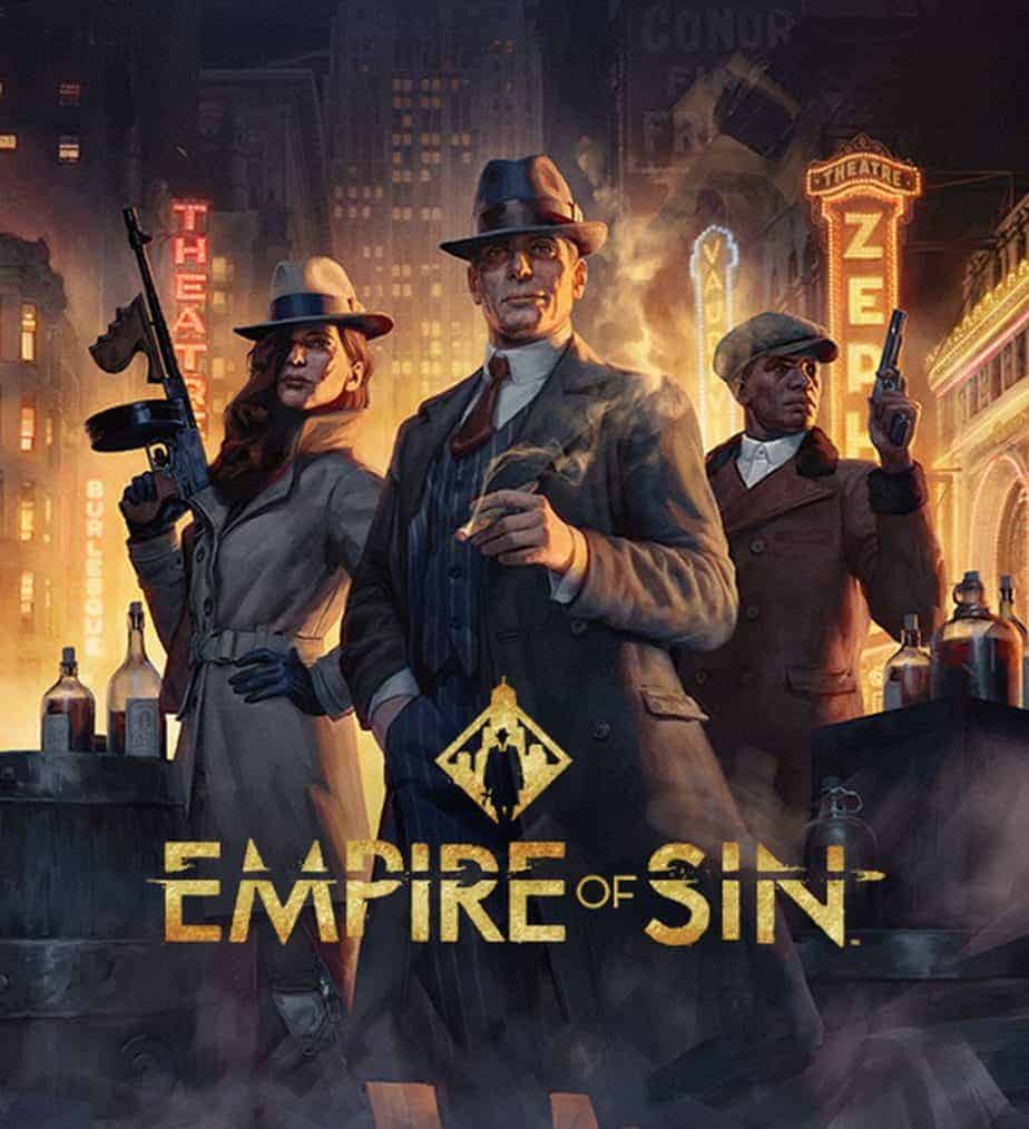 Empire of Sin Release Announced Preview Trailer