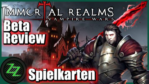 Immortal Realms Vampire Wars - Gameplay Cards and Card Play