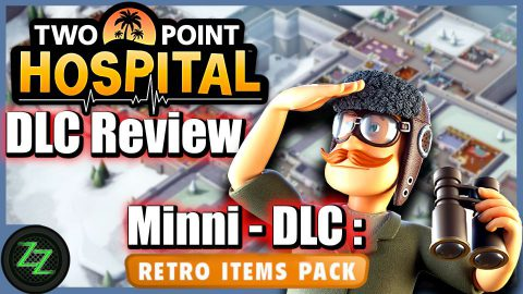 Two Point Hospital DLC Test (Review Deutsch) Bigfoot - Pebberly Island - Close Encounters 02 Two Point Hospital DLC Retro Items Pack