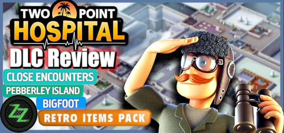 Two Point Hospital DLC Test Review Bigfoot Pebberly Island Close Encounters