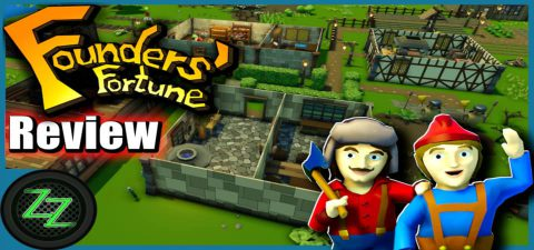 Founders Fortune Test - The Funny Construction, Survival Sims Mix Review