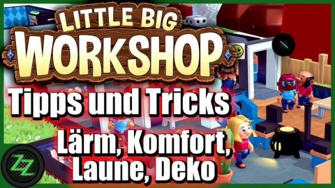 Little Big Workshop Tipps Und Tricks (Deutsch-German, many subtitles) Pausenraum Forschung Baupläne 06 Lärm, Komfort, Laune, Deko