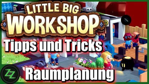 Little Big Workshop Tipps Und Tricks (Deutsch-German, many subtitles) Pausenraum Forschung Baupläne 11 Raumplanung