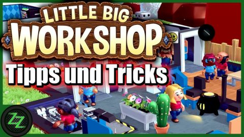 Little Big Workshop Tipps Und Tricks (Deutsch-German, many subtitles) Pausenraum Forschung Baupläne