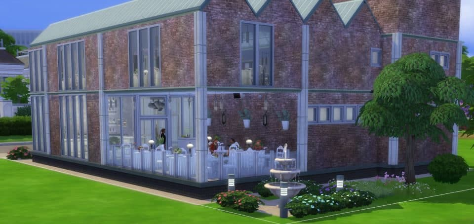 Sims 4 Houses Download by Shendragor - Gourmet Mill - Hinten Mill