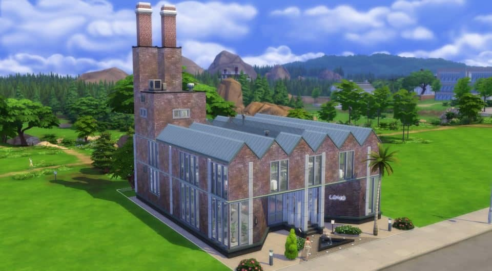 Sims 4 Houses Download by Shendragor - Gourmet Mill - mill haupt 2