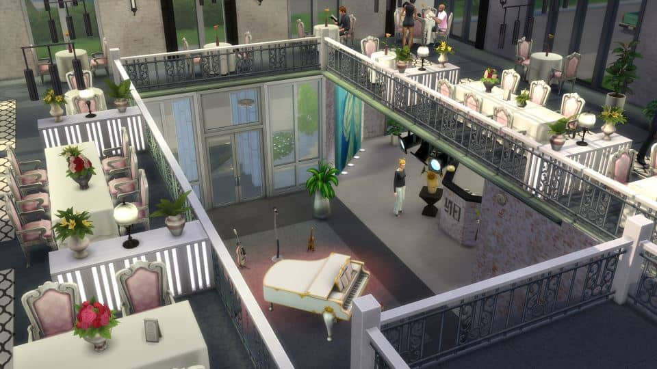 Sims 4 Houses Download by Shendragor - Gourmet Mill - mill og