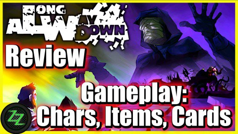 A Long Way Down Review Gameplay - Chars, Items, Cards