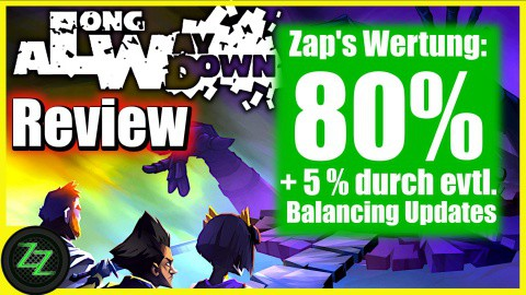 A Long Way Down Review (Game) - Game Review Wertung 80 Prozent+