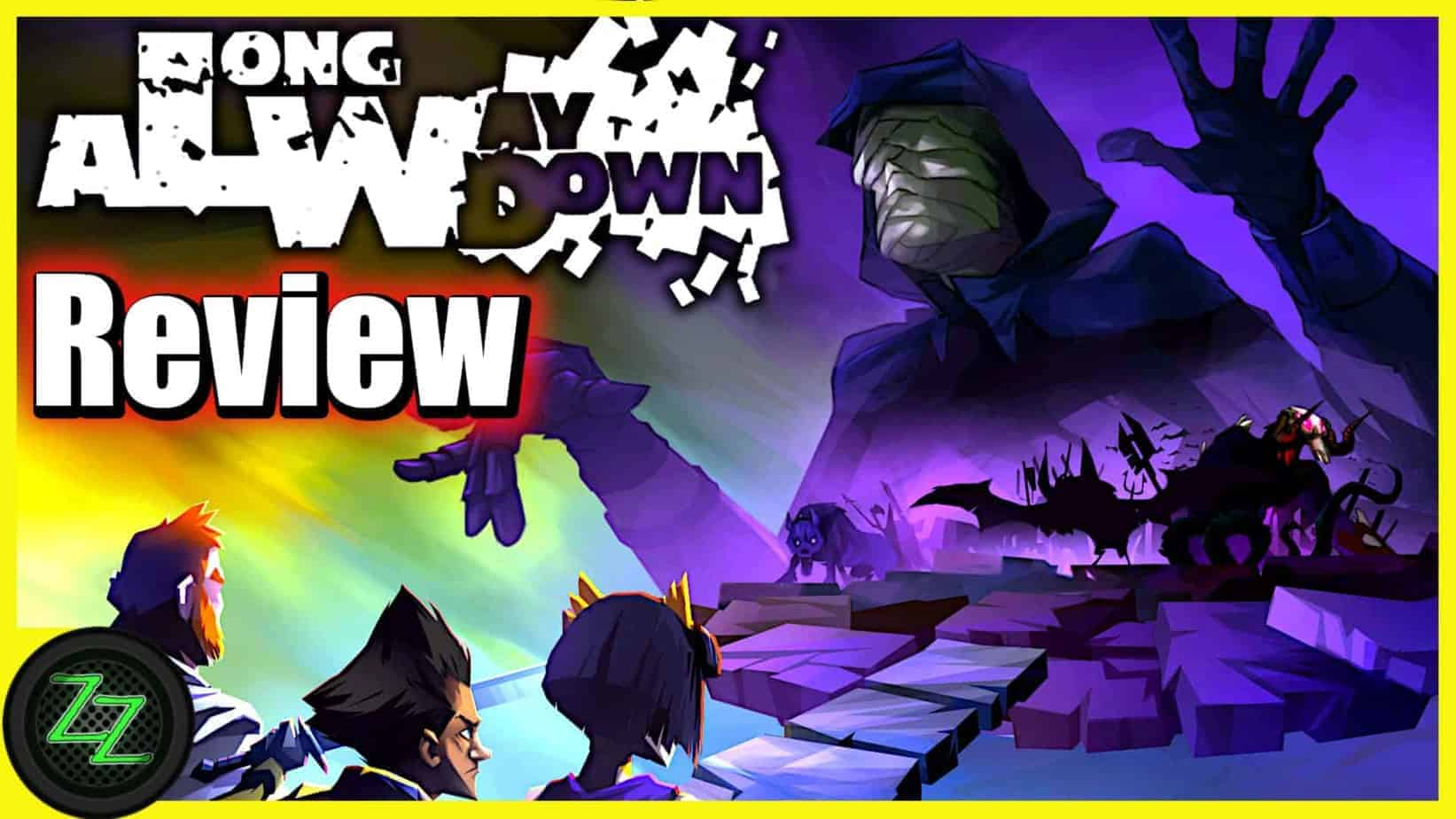 A Long Way Down Review (Game) turn-based Strategy Dungeon with Cards