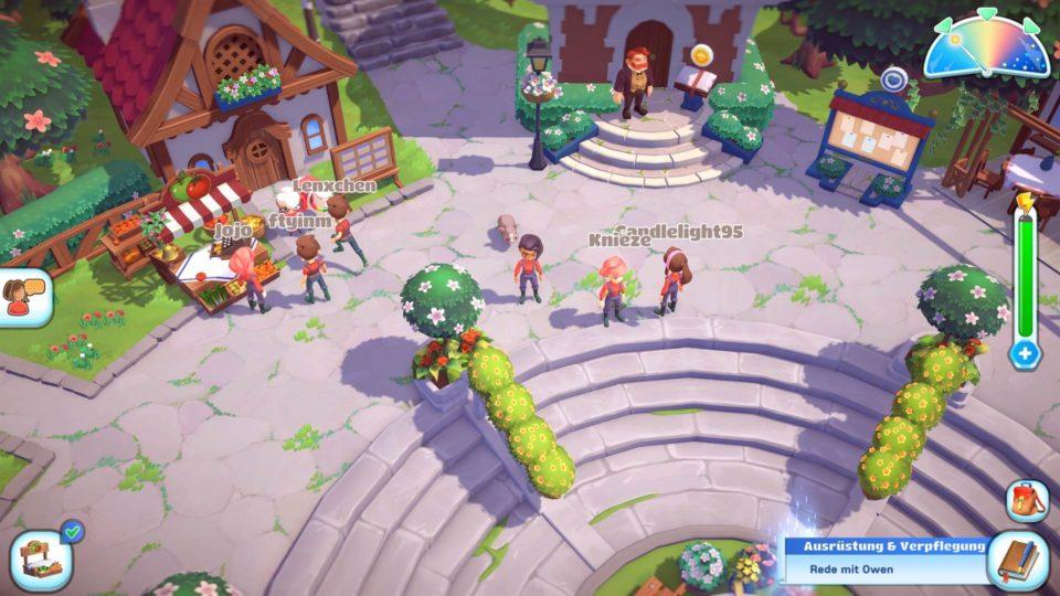 Big Farm Story Gameplay - Vorstellung der fröhlichen Bauernhof Sim - Meet other Players in the City in Multiplayer - Triff andere Spieler in der Stadt im Mehrspieler