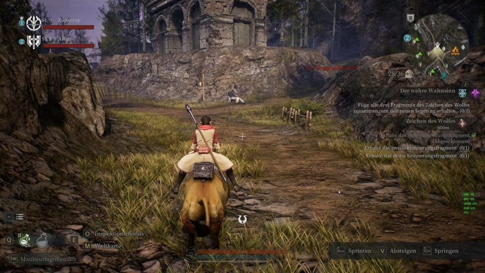 Bless Unleashed Review (Deutsch) Asia Story MMORPG mit Action Combat im Test - Mounts - Reittiere