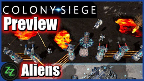 Colony Siege (p)Review - RTS + Tower Defense Mix im Weltraum (German, many subtitles) 04 - Gameplay Aliens - Gegner - Enemies