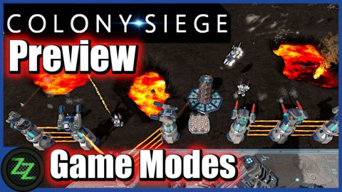 Colony Siege (p)Review - RTS + Tower Defense Mix im Weltraum (German, many subtitles) 06 Colony Siege Gameplay - Game Modes