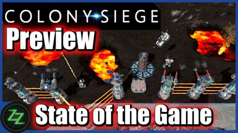 Colony Siege (p)Review - RTS + Tower Defense Mix im Weltraum (German, many subtitles) 08 Colony Siege State of the Game - Zustand des Spiels
