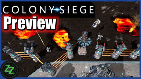 Colony Siege (p)Review - RTS + Tower Defense Mix im Weltraum