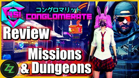 Conglomerate 451 Review - Test - rundenbasiertes Cyberpunk roguelike Dungeoncrawler RPG (German, many subtitles) 04 - Gameplay - Missions and Dungeons