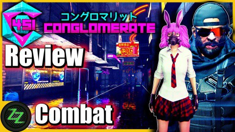 Conglomerate 451 Review - Test - rundenbasiertes Cyberpunk roguelike Dungeoncrawler RPG (German, many subtitles) 05 - Gameplay - Combat - Kampf
