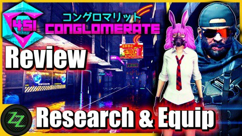 Conglomerate 451 Review - Test - rundenbasiertes Cyberpunk roguelike Dungeoncrawler RPG (German, many subtitles) 07 - Gameplay - Characters and Skills