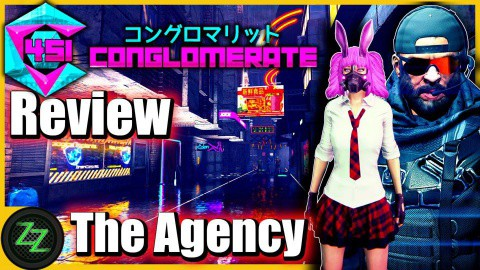 Conglomerate 451 Review - Test - rundenbasiertes Cyberpunk roguelike Dungeoncrawler RPG (German, many subtitles) 07 - Gameplay - The Agency - Die Agentur