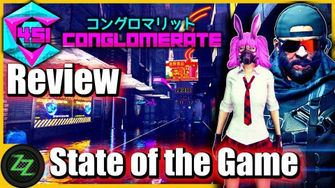 Conglomerate 451 Review - Test - rundenbasiertes Cyberpunk roguelike Dungeoncrawler RPG (German, many subtitles) 09 - State of the Game - Zustand des Spiels
