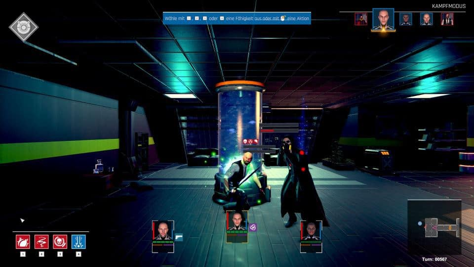 Conglomerate 451 Review - Test - rundenbasiertes Cyberpunk roguelike Dungeoncrawler RPG-Ws
