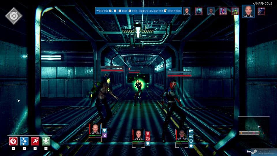 Conglomerate 451 Review - Test - rundenbasiertes Cyberpunk roguelike Dungeoncrawler RPG-fN