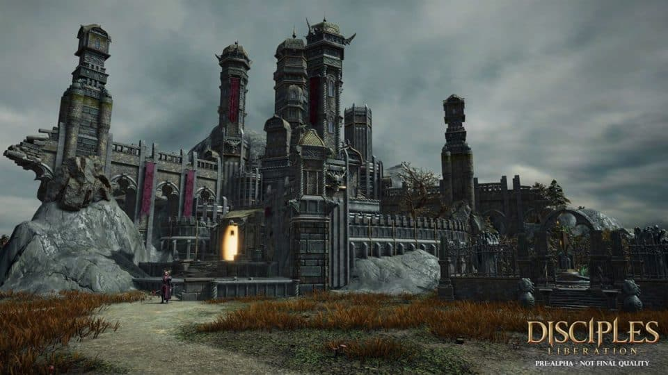 Disciples Liberation Info Collection - Trailer, Release Date, Gameplay Screenshots, all info - another Castle housing the undead hordes