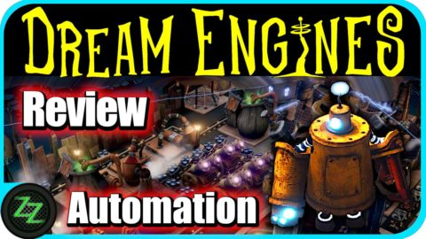 Dream Engines Nomad Cities Gameplay Automation - Factory in Factorio-Style