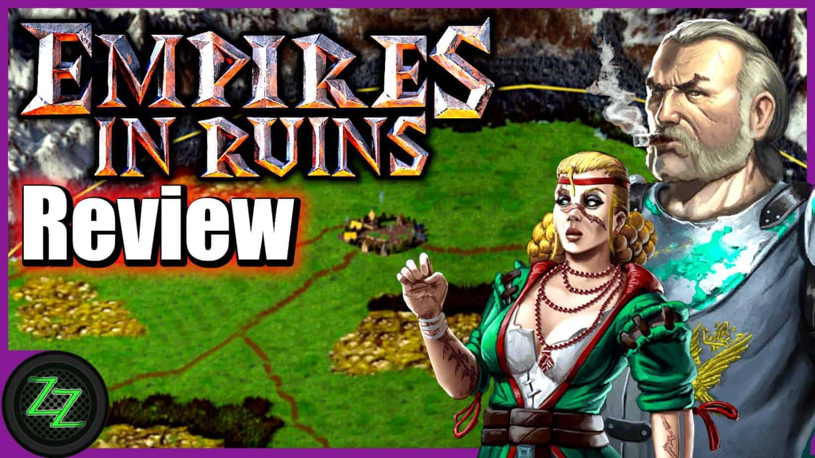 Empires in Ruins Game Review - 4X Strategy Tower-Defense Mix in Test (Deutsch-German,many subtitles)