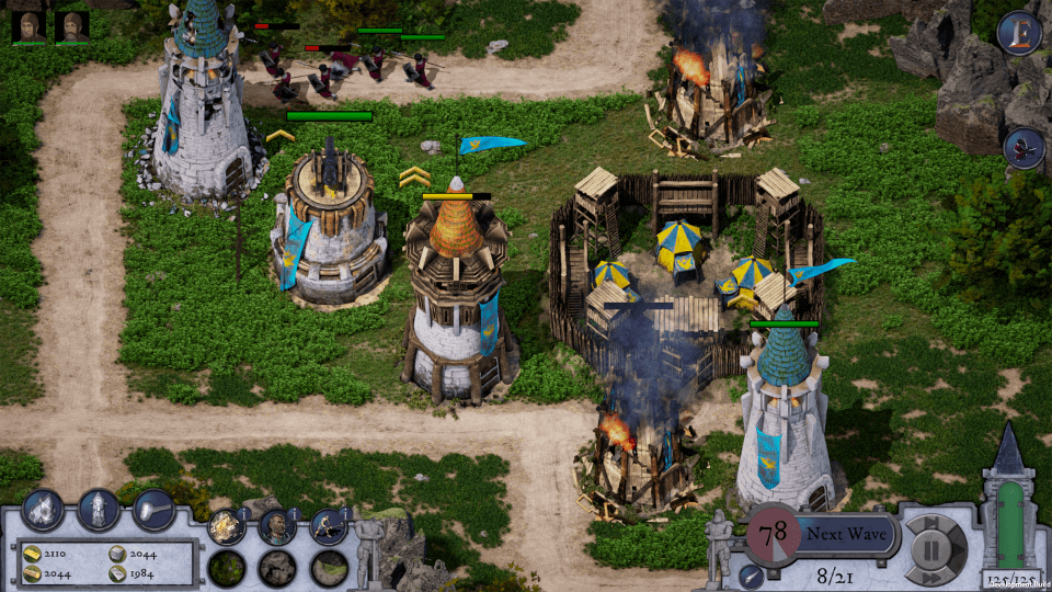 Empires in Ruins Game Review - Tower Defense 05