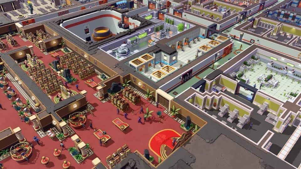 Evil Genius 2 2021 Remake - Release Date, Info, Trailer, Screenshots - the casino is the stealth company hiding the evil base