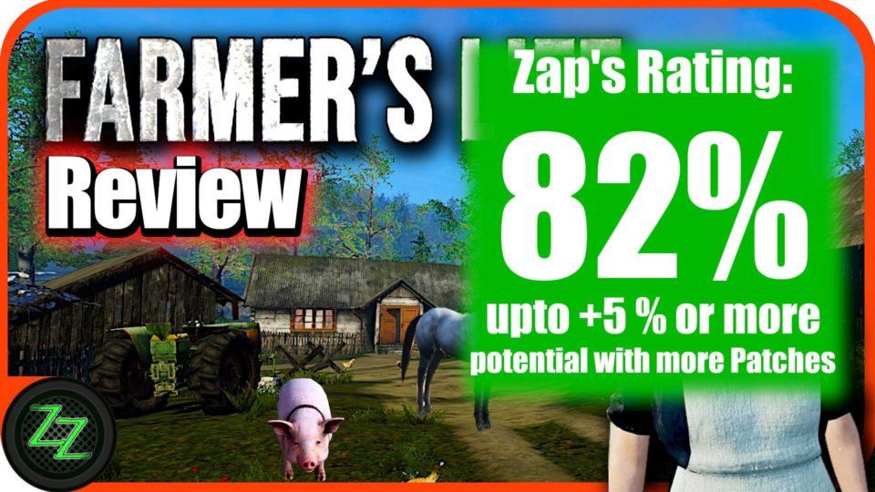 Farmers Life Review Wertung und Bewertung mit Zahlen 82 prozent