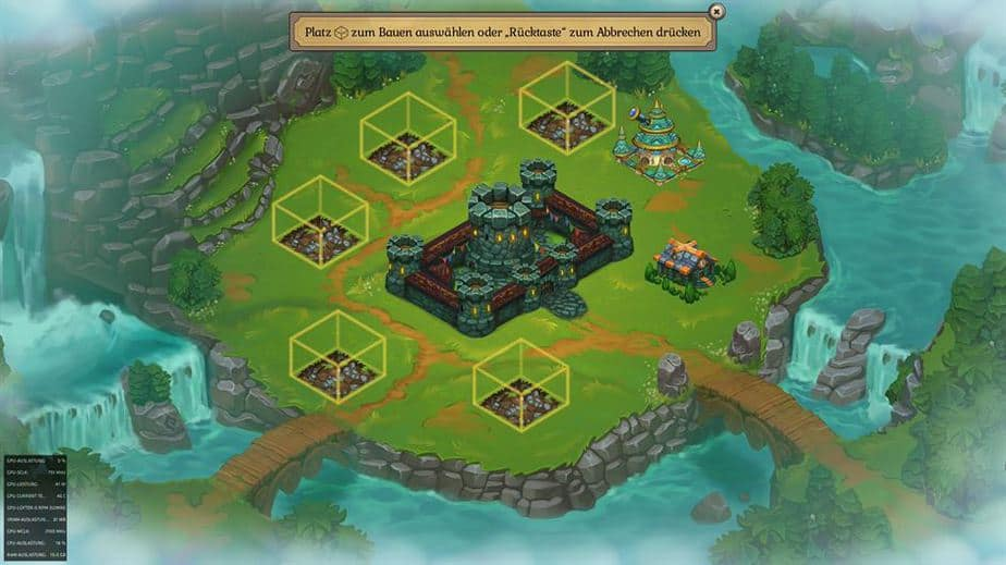 Fort Triumph Review - Test - Fantasy XCOM trifft Heros of MM City Overview