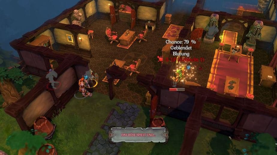 Fort Triumph Review - Test - Fantasy XCOM trifft Heros of MM Combat in a House